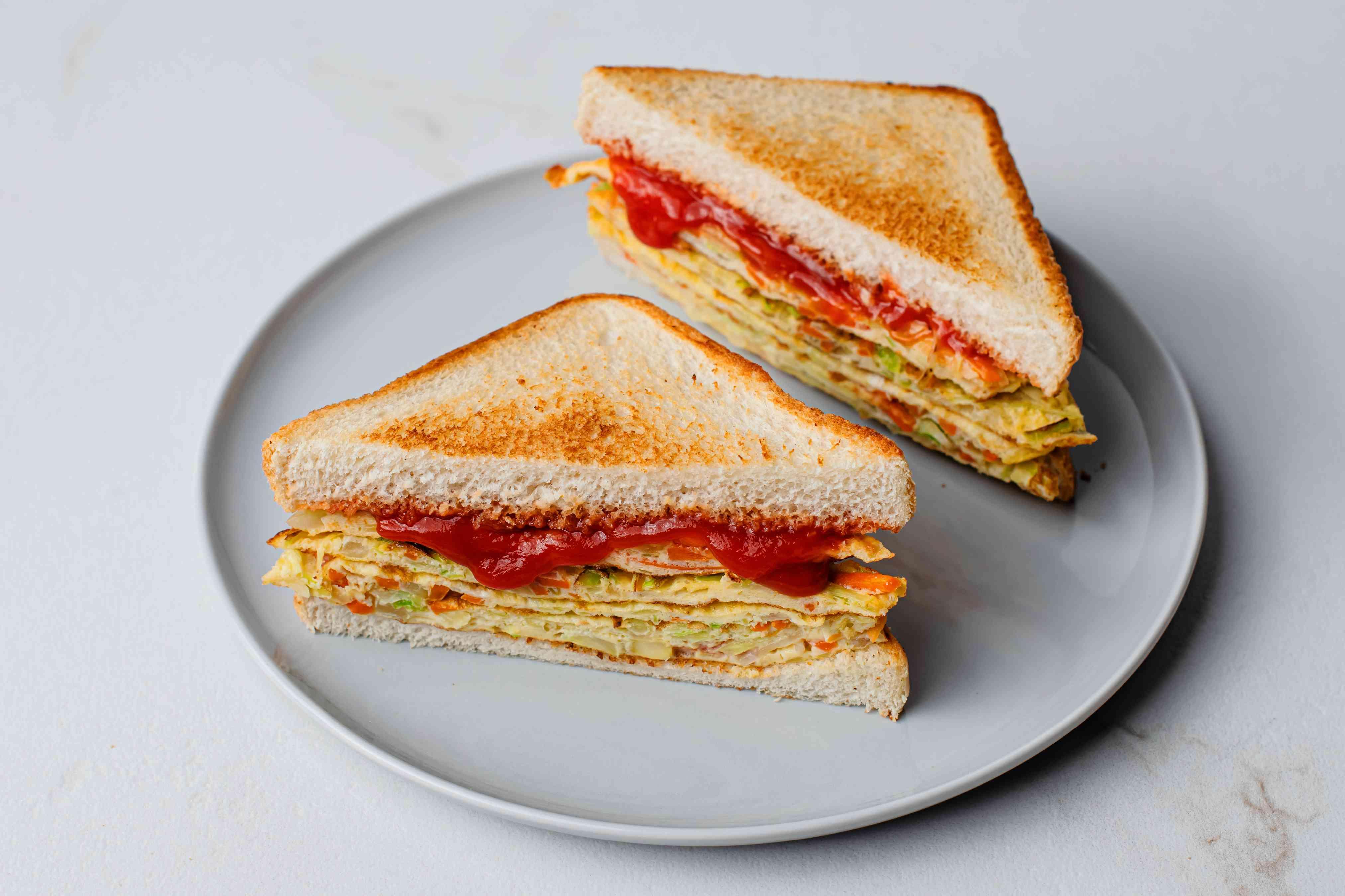 Korean Egg Sandwich