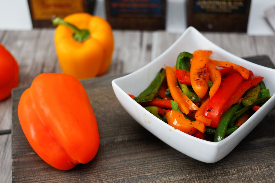 Pan-Roasted Peppers