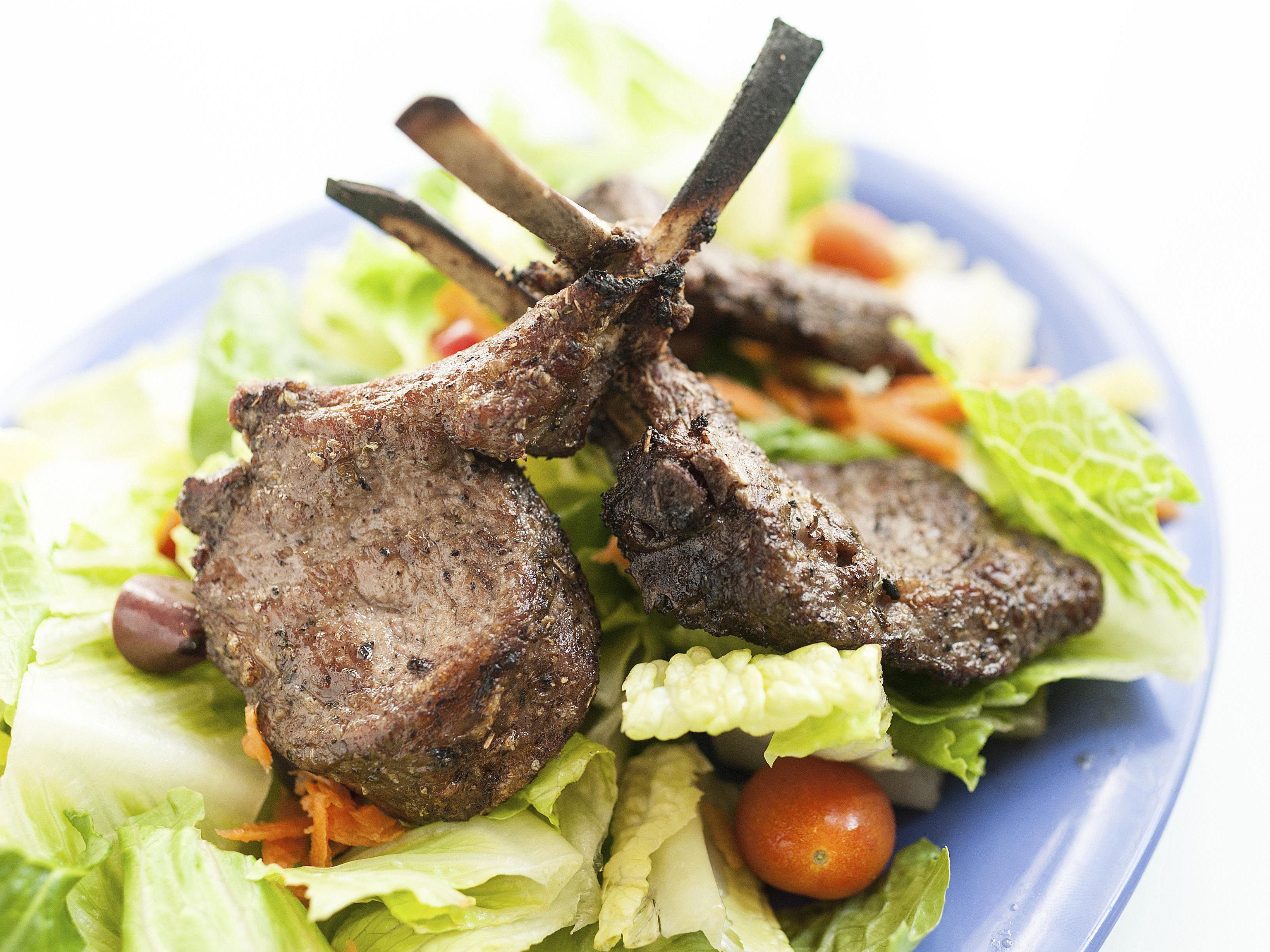 lamb chops with mustard and brown sugar Lamb Chops Dijon