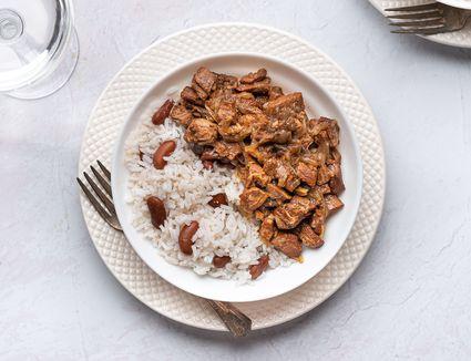 Crock Pot Jamaican-Style Lamb Stew