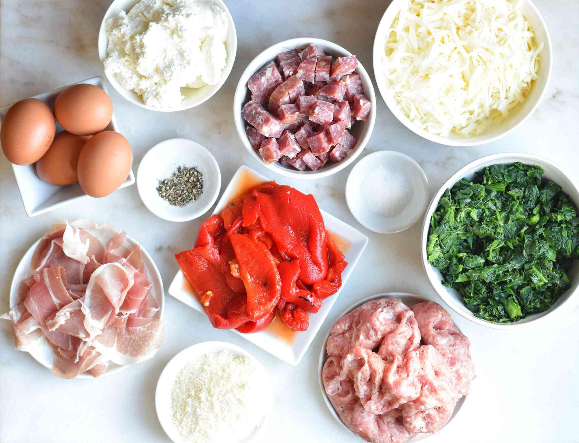 easter pie filling ingredients