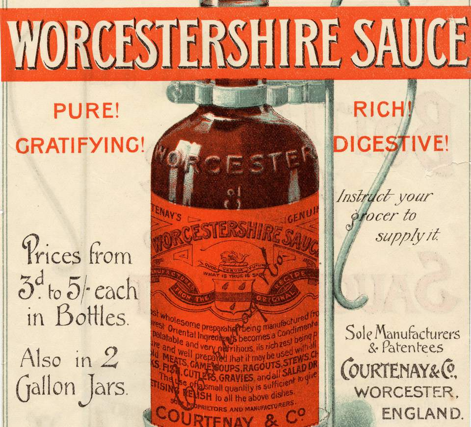 worcestershire sauce history condiment recipes receipt