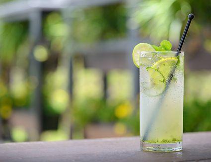 Lemon and line juice
