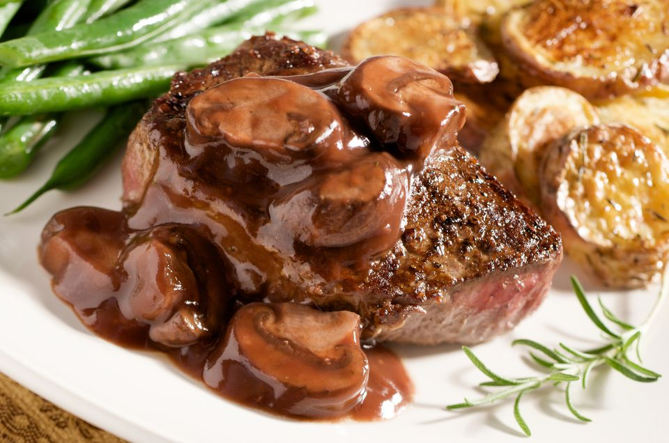 Mushrooms Bordelaise