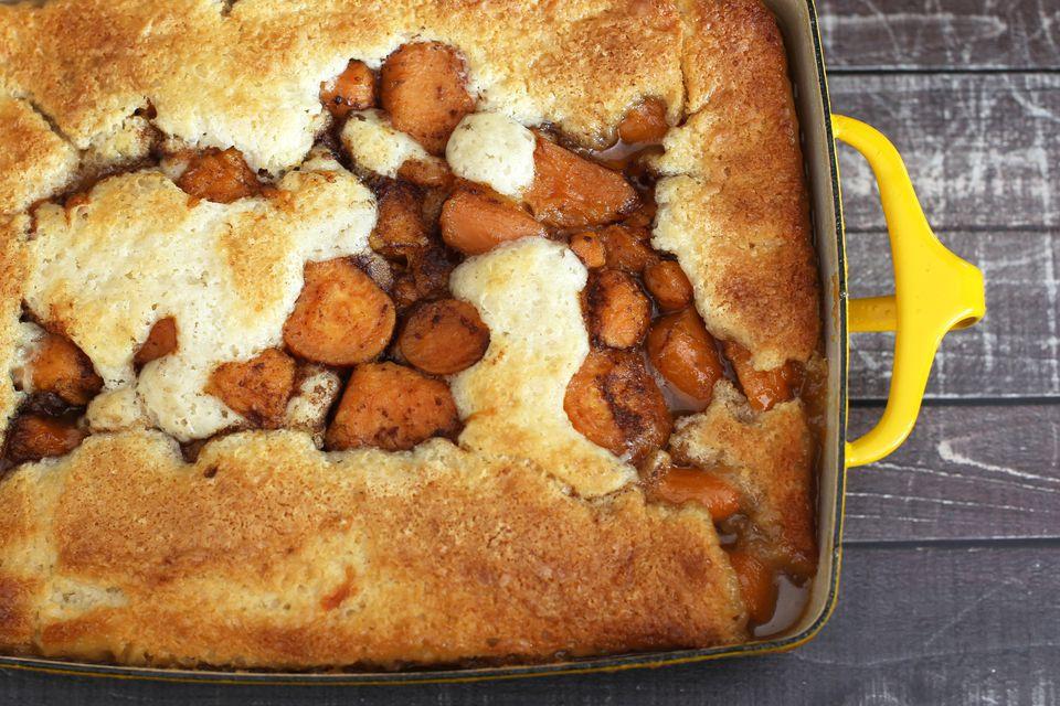 Southern Sweet Potato Cobbler