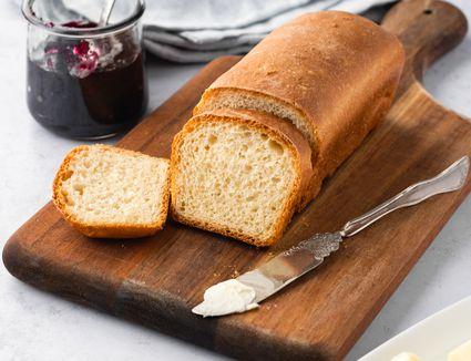 White Bread Mini Loaf