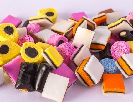 Dutch licorice candies