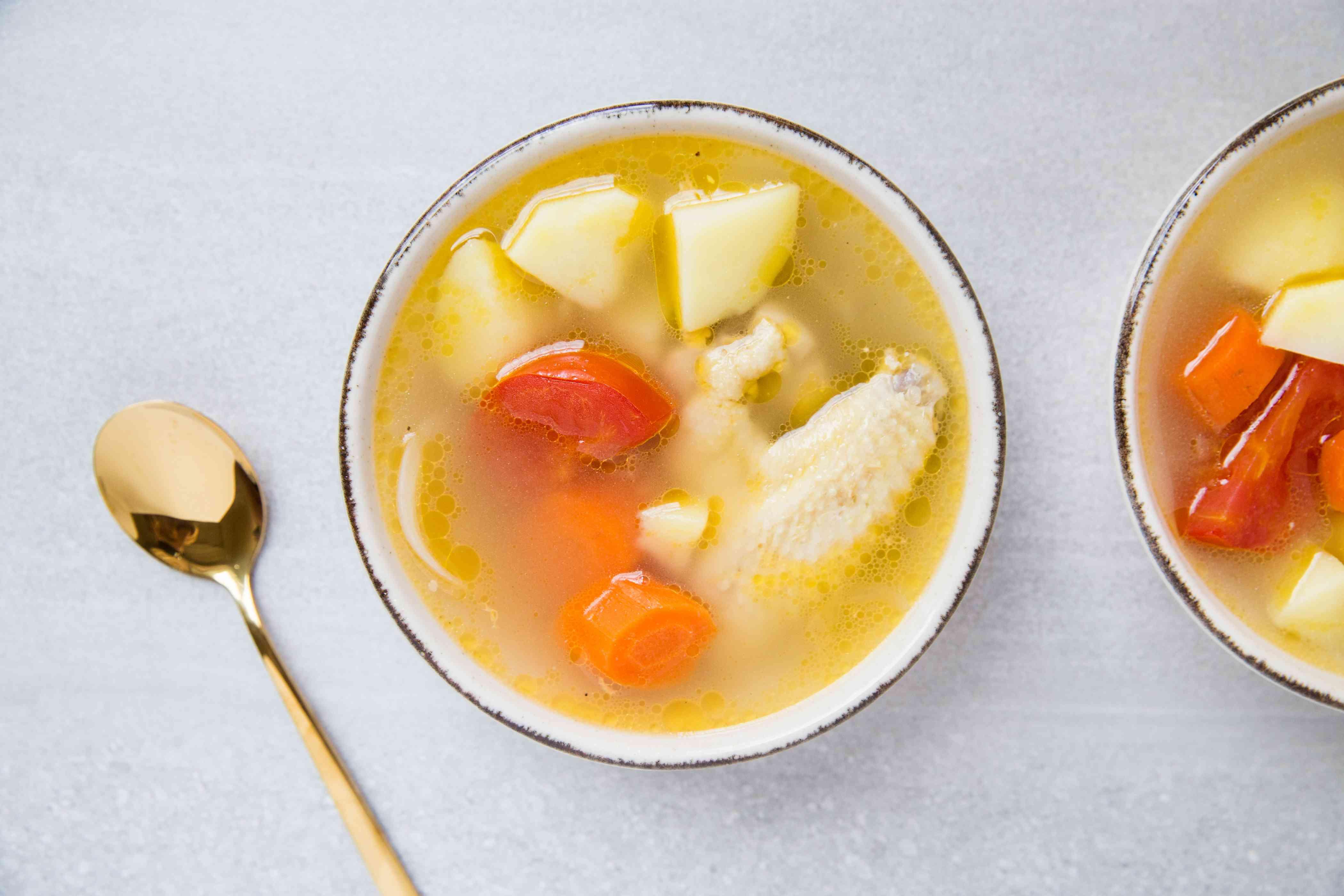 Malaysian Potato, Carrot, and Tomato Soup—Malaysia ABC Soup