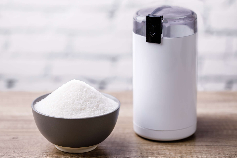 Ingredients for caster sugar