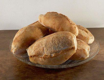 Bread variety called Marraqueta paceña, from La Paz, Bolvia.