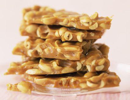 peanut honey toffee