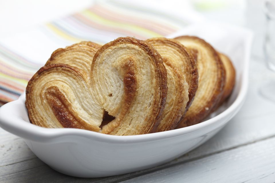 Palmiers in a bowl