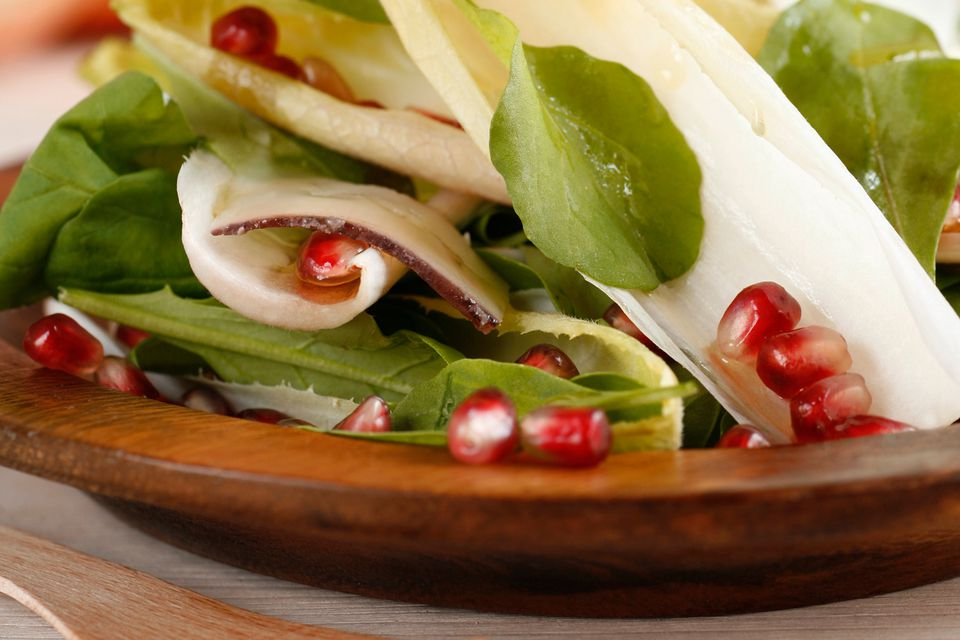 Pomegranate vinaigrette