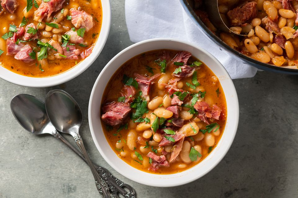White Bean Soup With Smoked Ham Shank