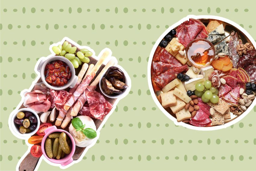 Meat and Cheese Composite