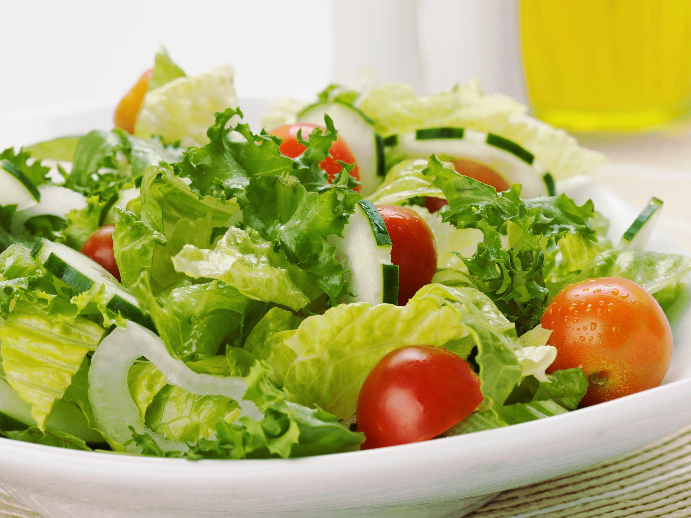 Make The Perfect Green Salad