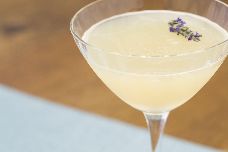 Lavender Lemon Drop Cocktail