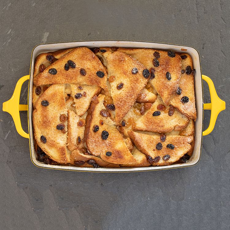 Easy Bread and Butter Pudding Tester Image