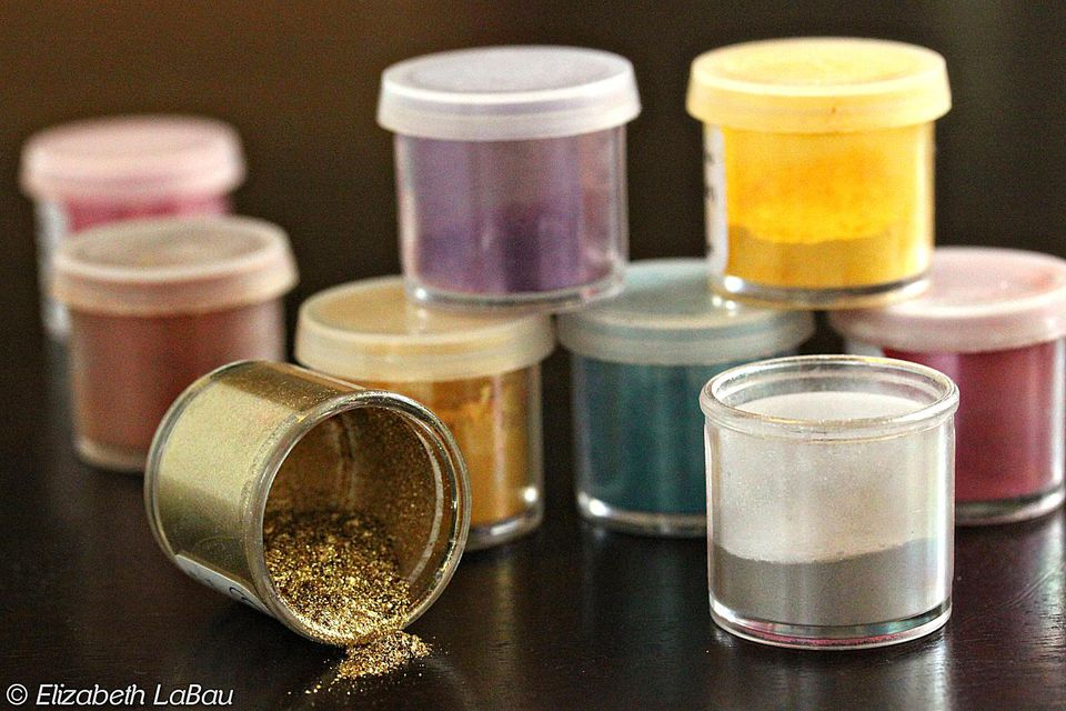 Jars of luster dust