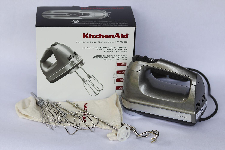 Kitchenaid 9 Speed Hand Mixer Review Adequate Performance