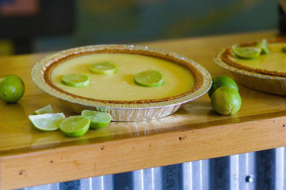 Vegan No-Bake Key Lime Pie