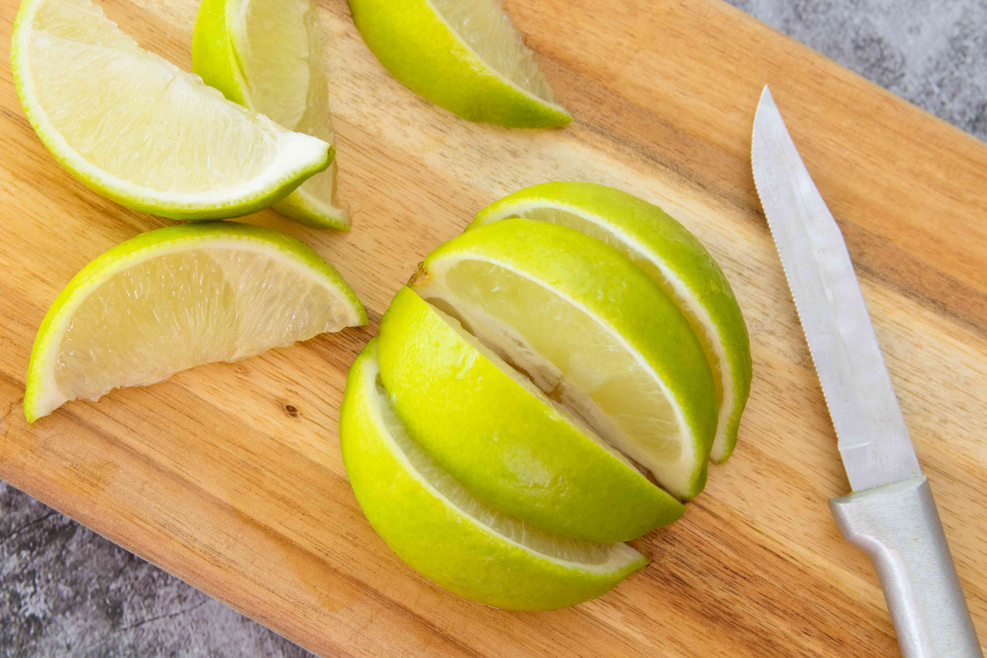 Fresh-Cut Lime Wedges