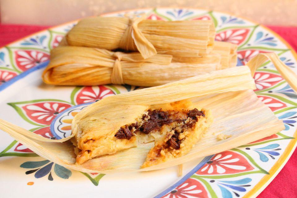 Tamales de pechuga kosher y halal