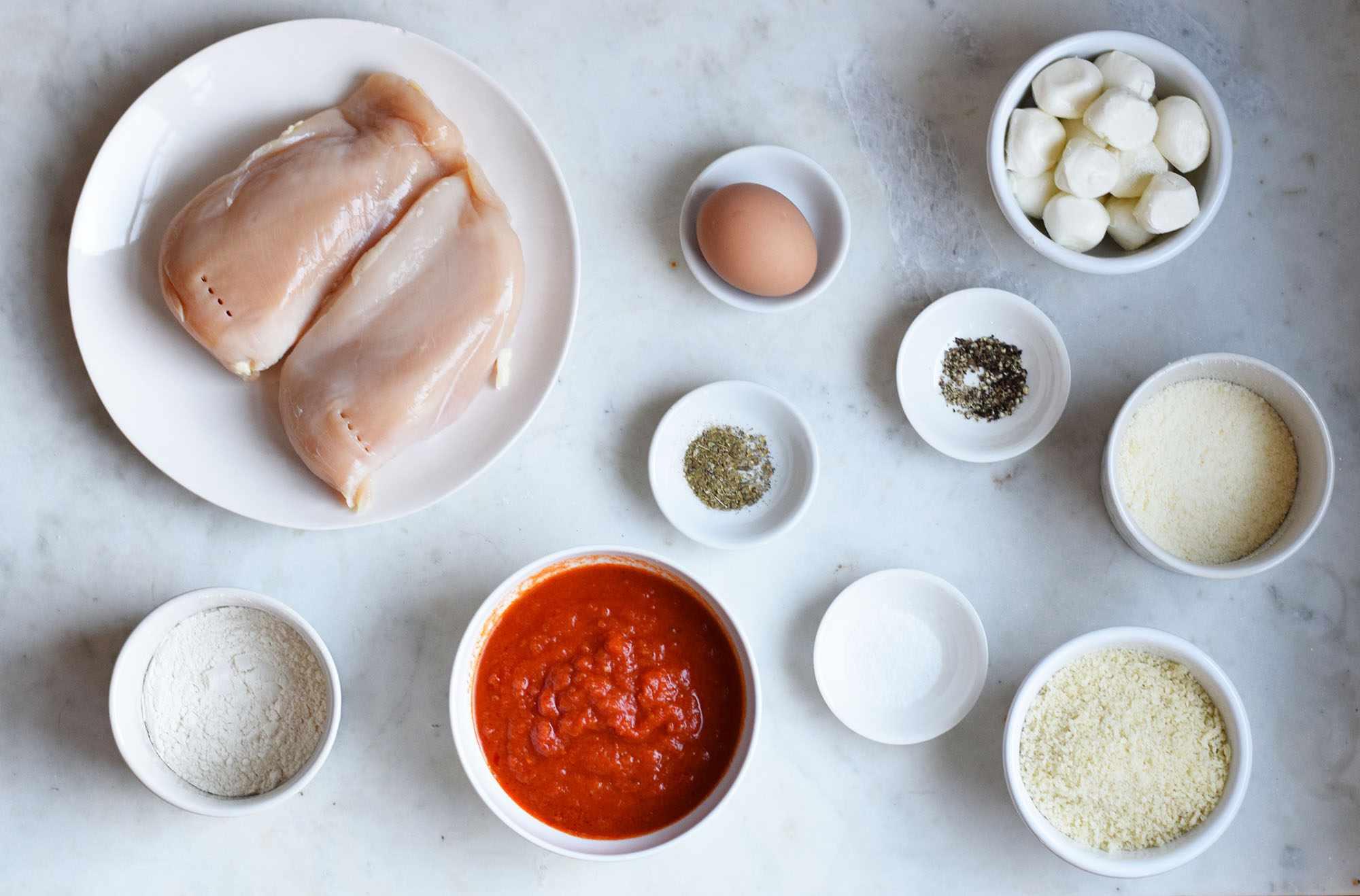 air fryer chicken parmesan ingredients