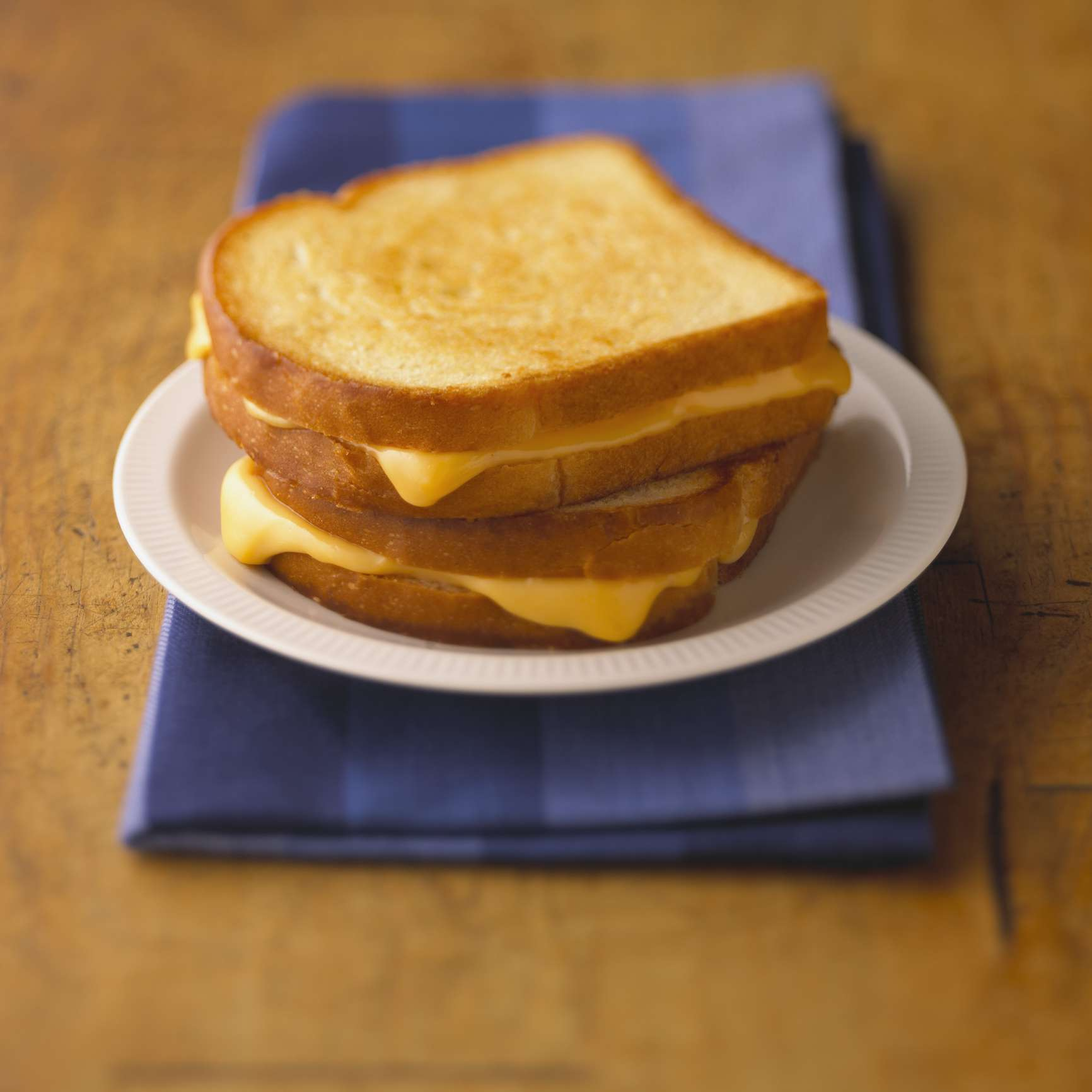 Perfect, 3-Ingredient Grilled Cheese Sandwich