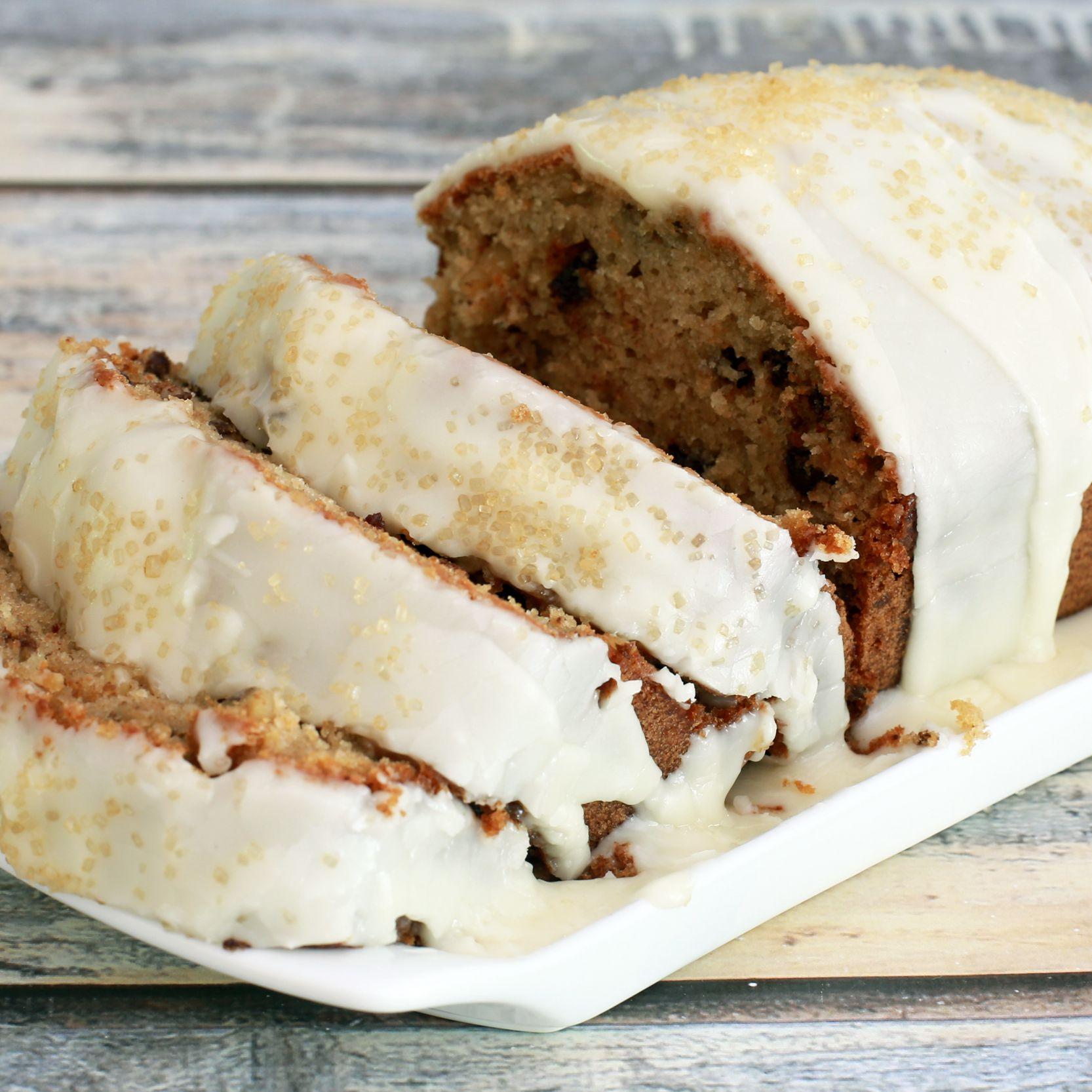 Moist Applesauce Spice Loaf Cake