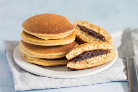 Dorayaki Sweet Filled Pancakes Recipe