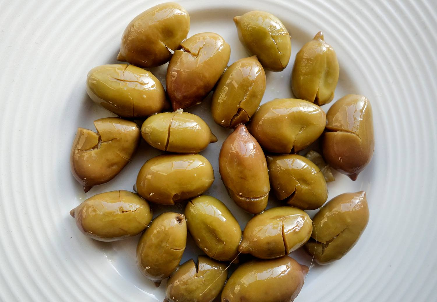 Small Cretan Green Olives