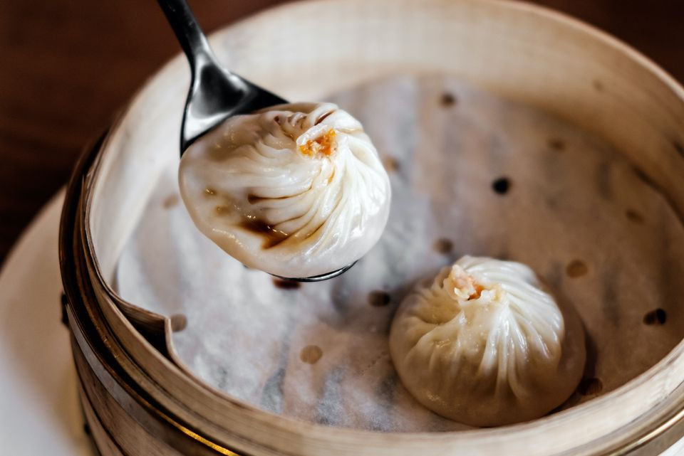 Dumpling with Ginger Dipping Sauce