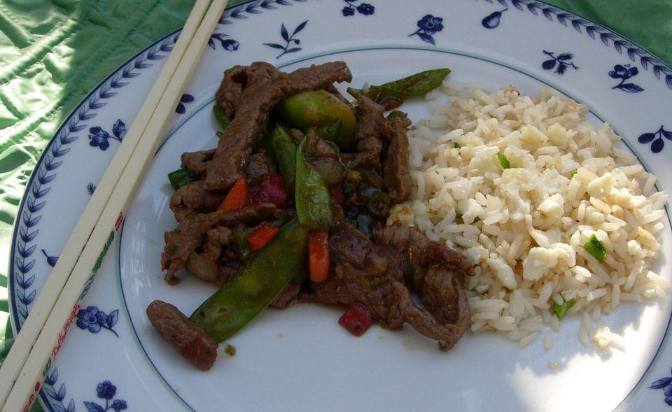 Basic beef stir-fry