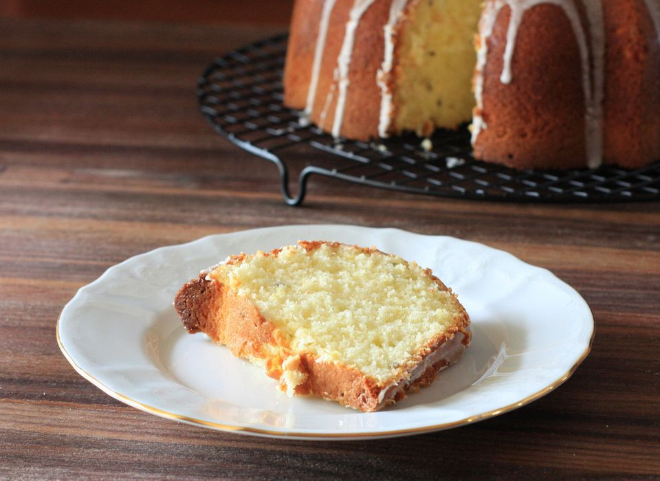 Lemon Lavender Pound Cake recipe