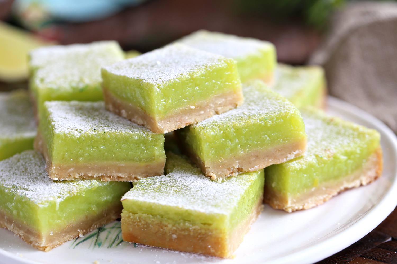 Lime Coconut Bars