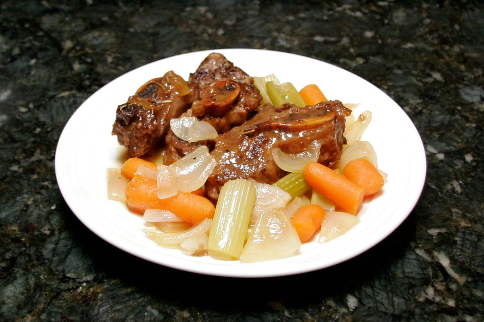 Cider Braised Beef Short Ribs
