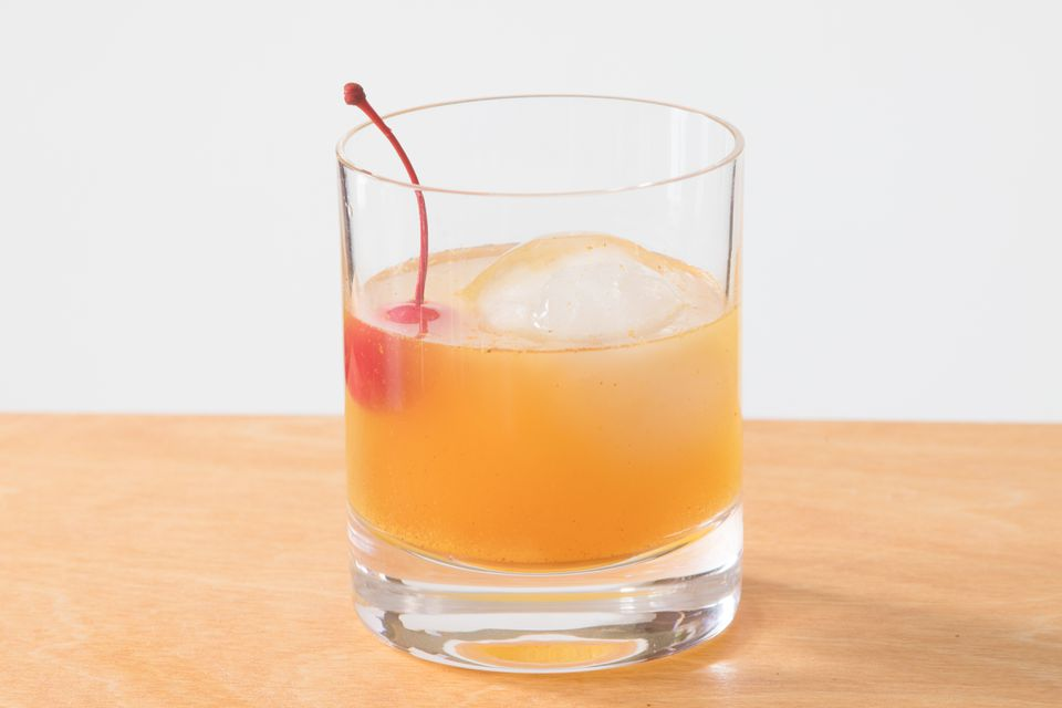 Old-Fashioned 101 Cocktail With Wild Turkey Bourbon