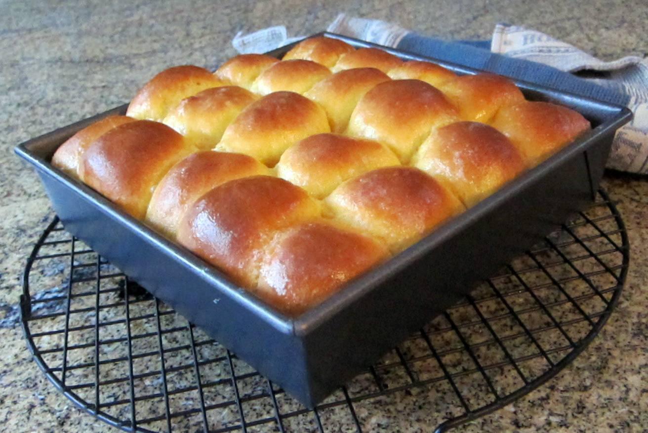 Bread Machine Sweet Potato Rolls