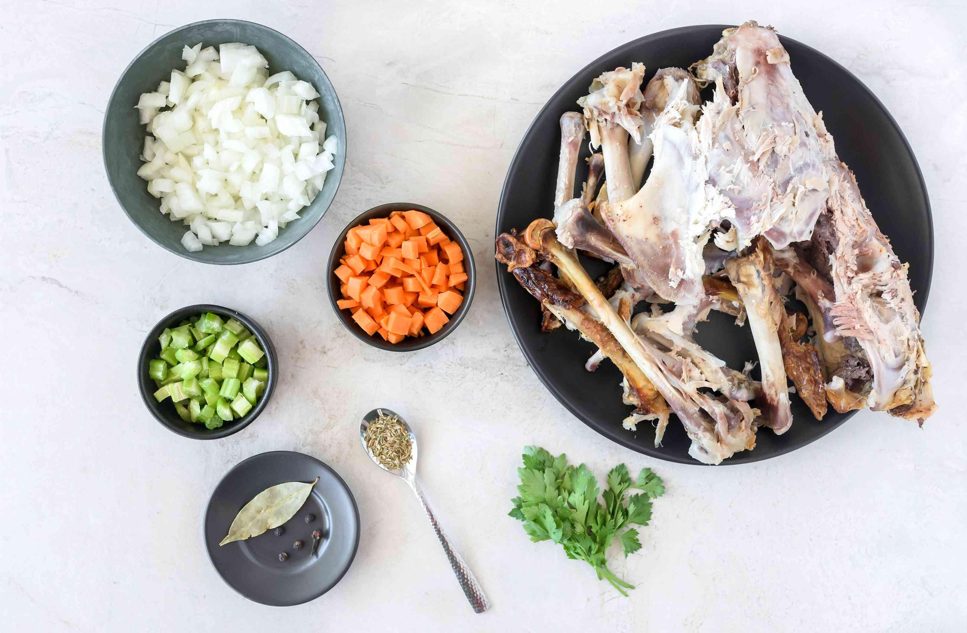 Turkey stock ingredients