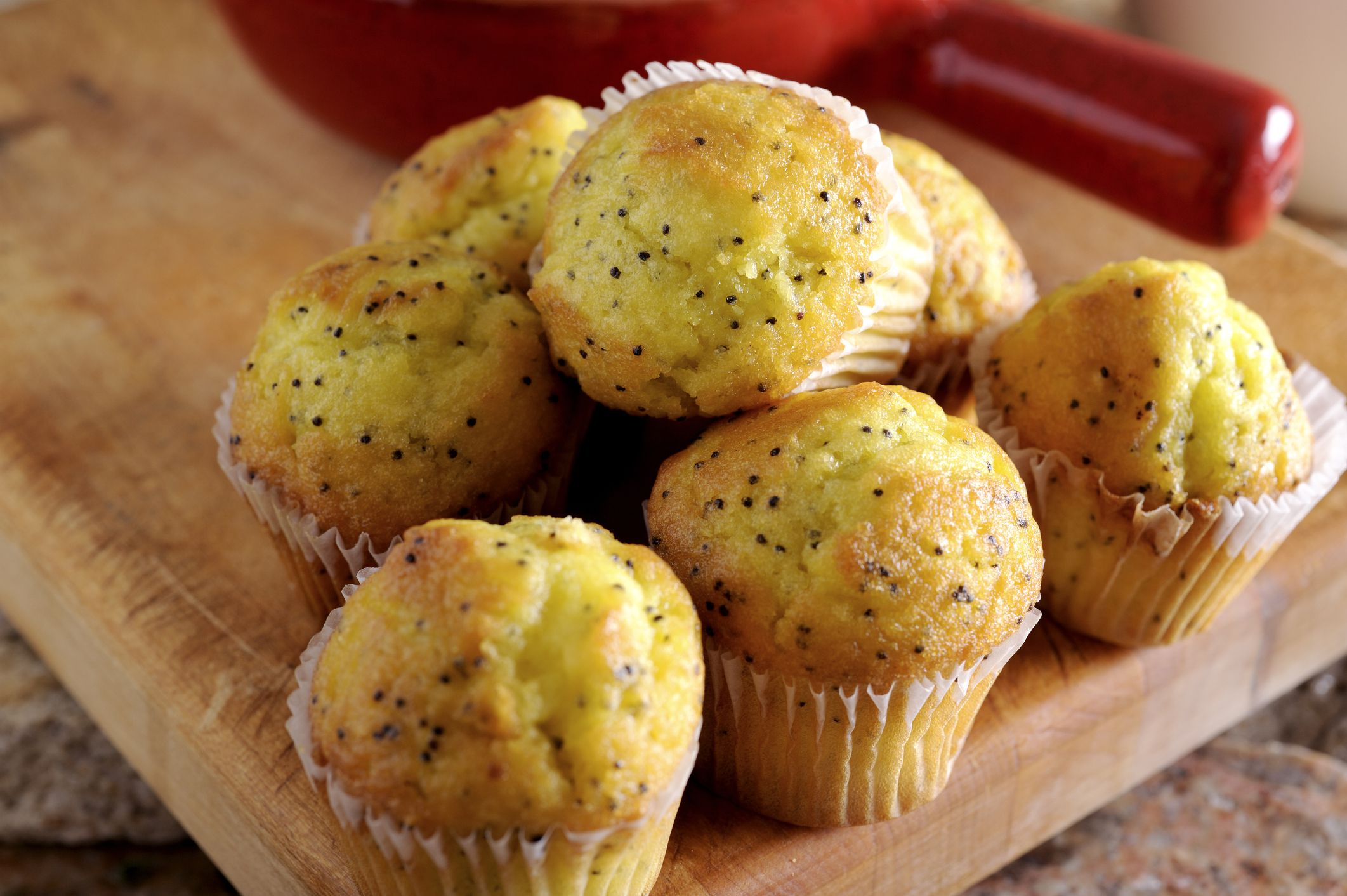 These Lemon Poppy Seed Muffins Are High on Taste and Low on Fat