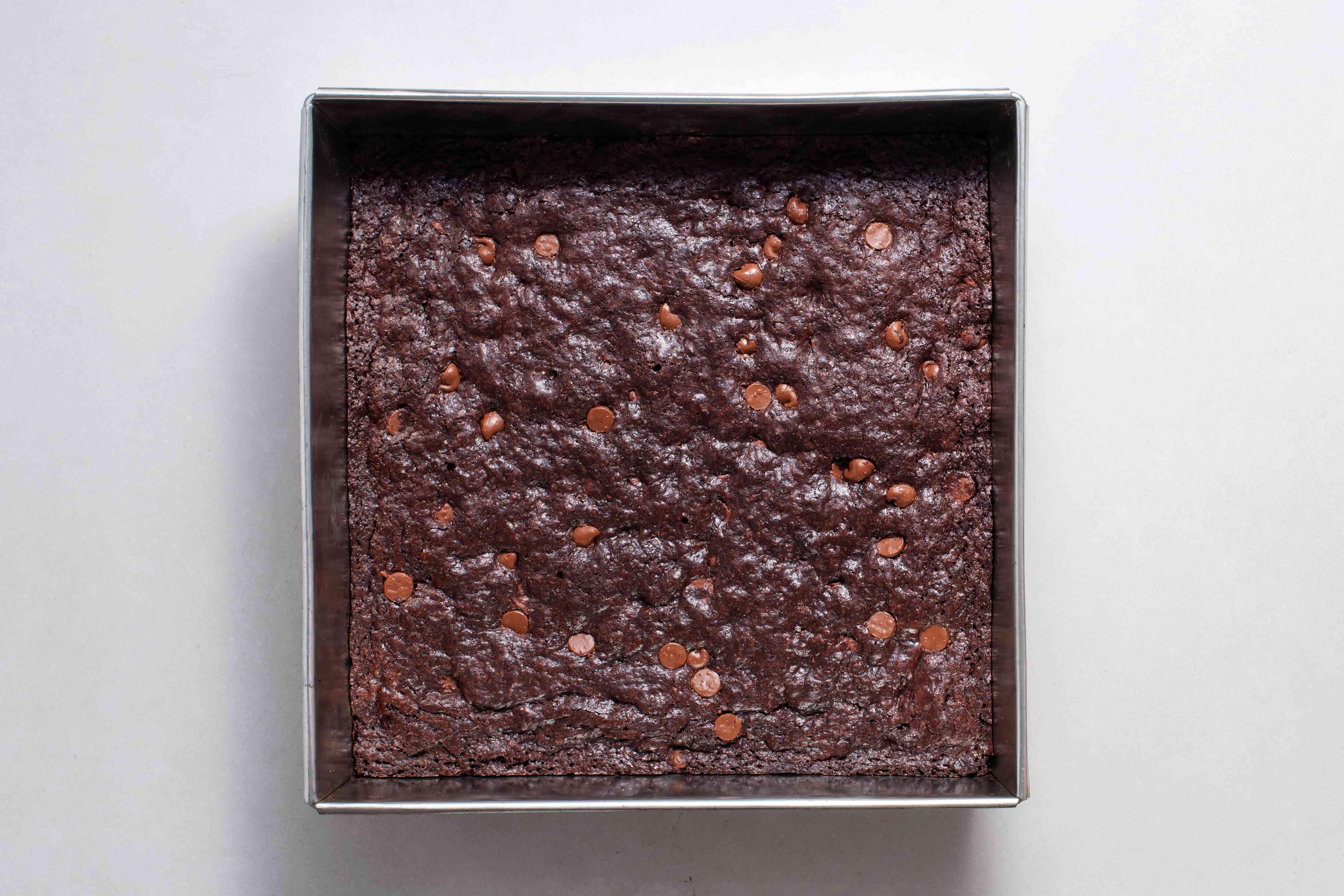Best Brownies in a baking pan