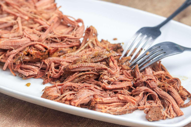 Shredded Italian Beef.