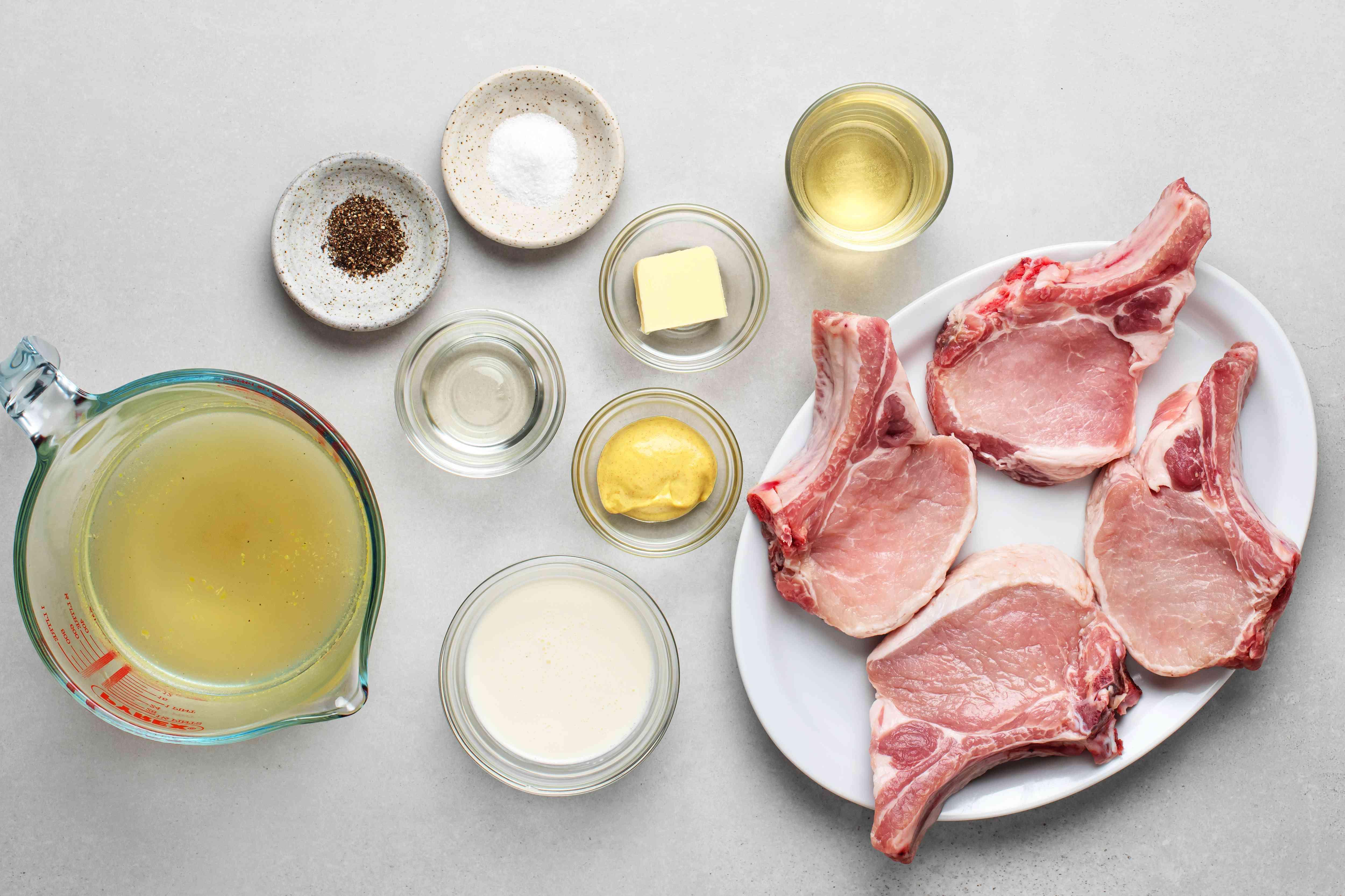 pork chop ingredients