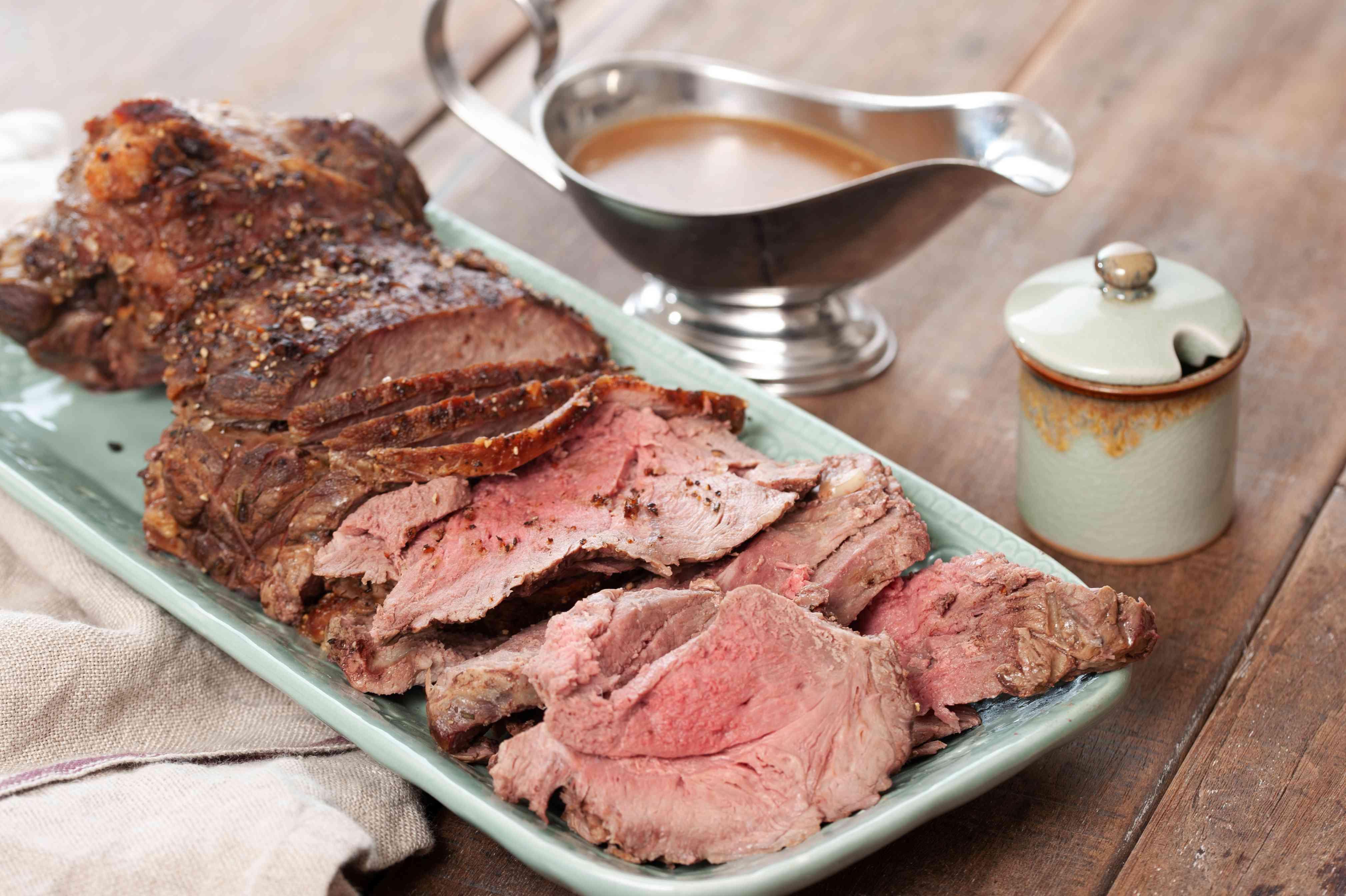 Roast leg of lamb recipe