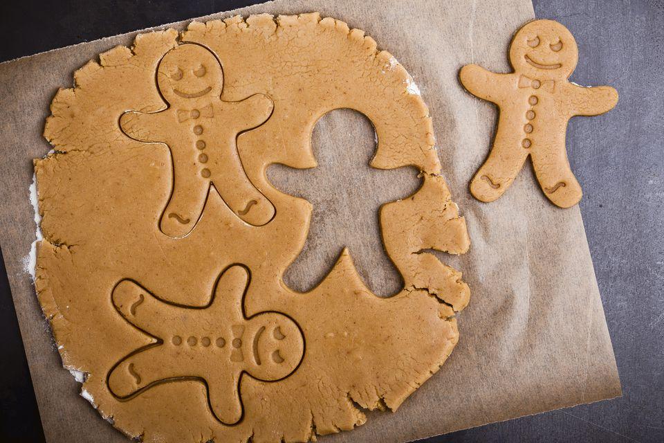 Gluten-free gingerbread man