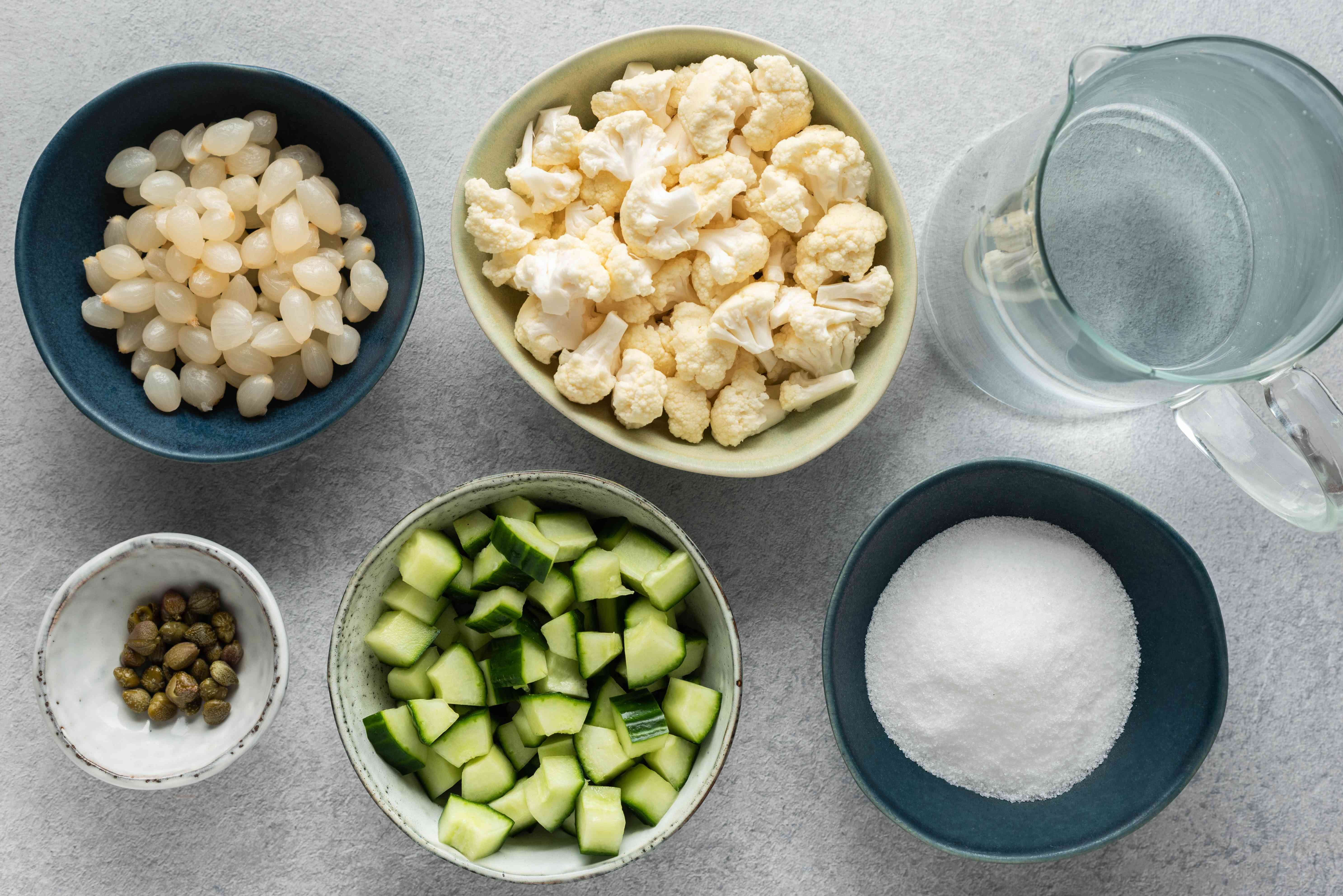 Classic piccalilli recipe brine ingredients
