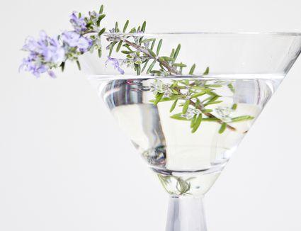 DIY Lavender-Rosemary Vodka