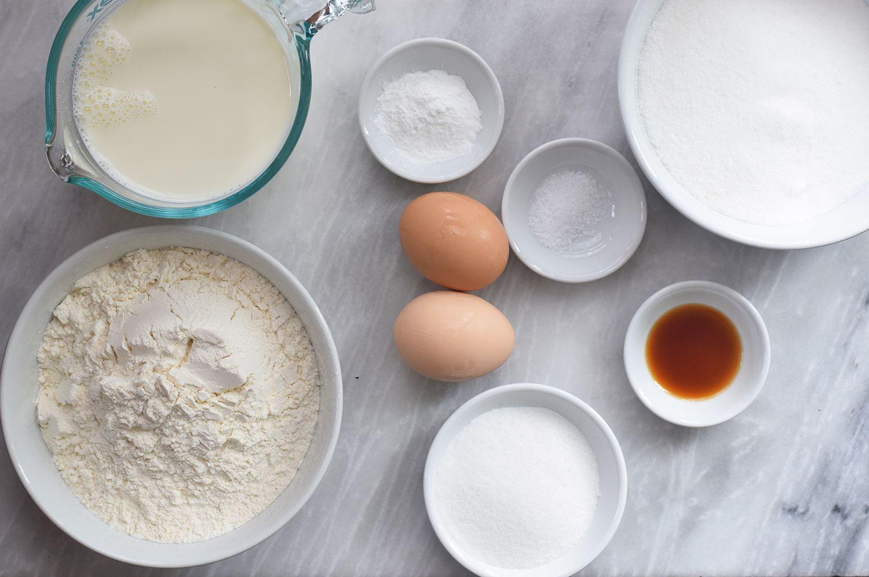 Mochi Waffles Ingredients