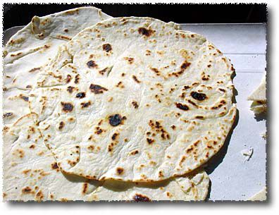 Piadine: Ready to Serve. Enjoy!